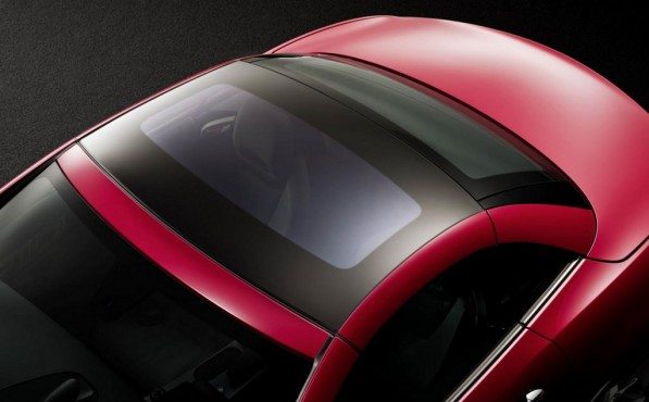 2012 mercedes slk teased electrochromic roof 25175 1 597x370 The next generation SLK bares its top