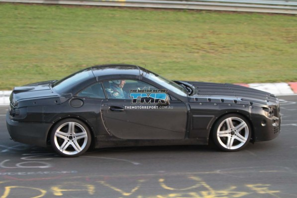 2013 mercedes benz sl class spy photos 15 4cbe27f5a4515 1280x1024 597x398  Spy Photo: 2013 Mercedes Benz SL Class