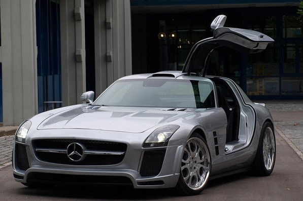 FAB D Mercedes SLS AMG 2 597x397 SLS AMG body and performance kit by FAB Design