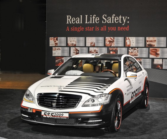 Mercedes Benz ESF 2009   2010 Washington  DC Auto Show  1  Kopie 566x470 The best of Mercedes Benz safety technology coming to Mulgrave