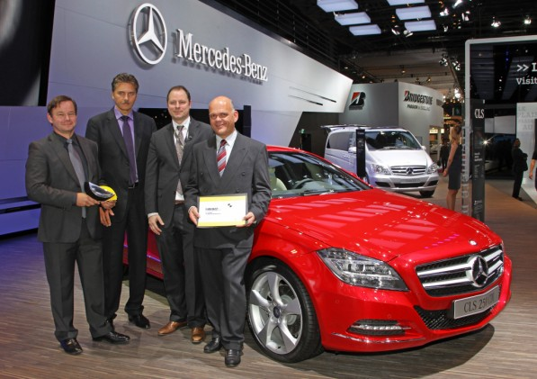 mercedes benz receives two euro ncap advanced awards 25008 1 597x421 PRE SAFE technology caps two Euro NCAP awards for safety
