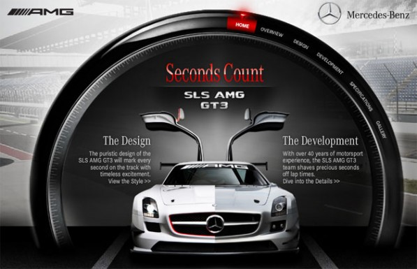 mercedessls amg gt3site 597x385 The SLS AMG GT3 goes online