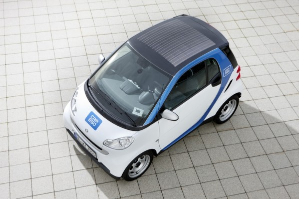 smart fortwo car2go edition launched 25004 1 597x397 Smart Fortwo   Car2go Edition Set into Motion