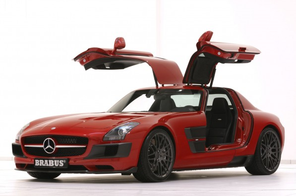 Brabus WIDESTAR 01 597x396 BRABUS Unveils SLS Widestar at Essen Show