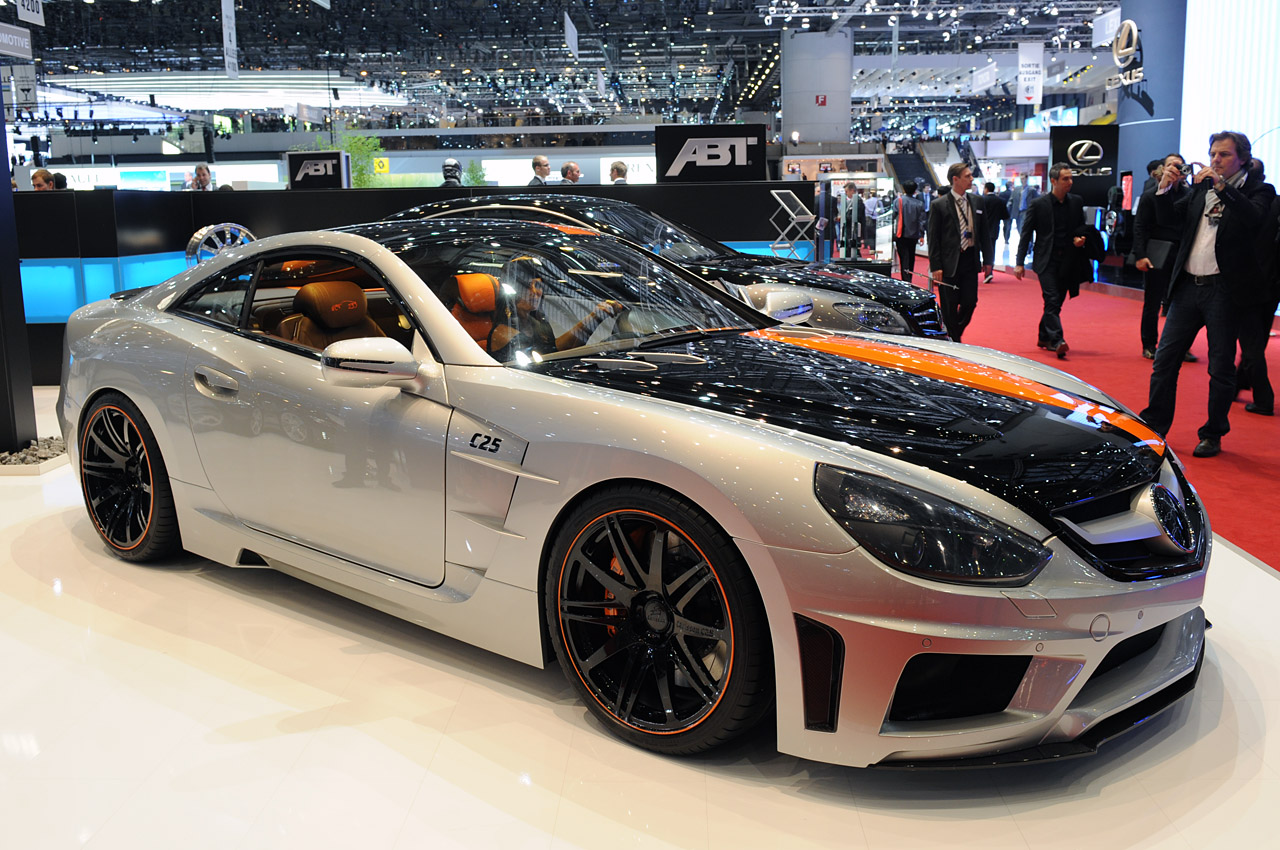 The Carlsson C25 on display at the Geneva Motor Show
