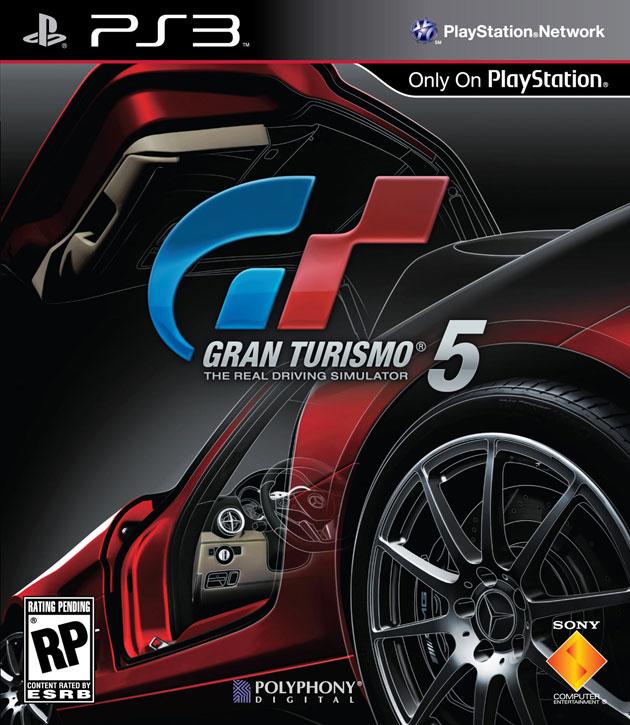 GT5 Cover Art