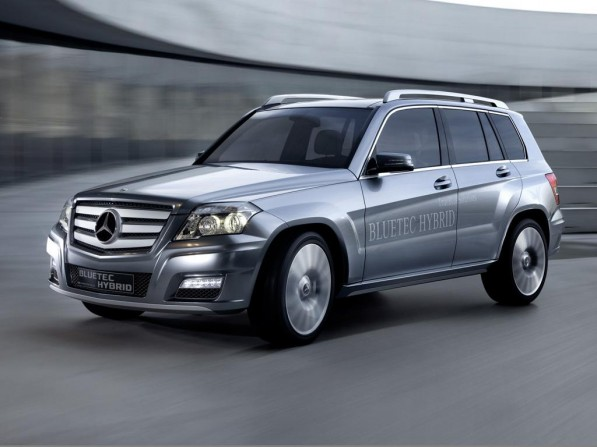 Mercedes Benz Vision GLK Bluetec 597x447 Mercedes Benz GLK Diesel on the way