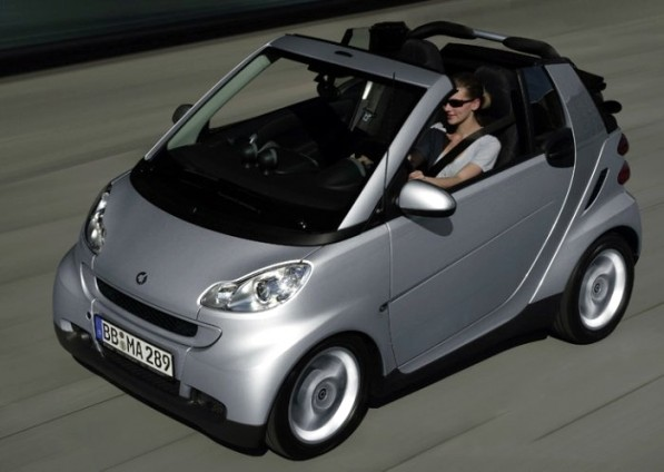 SmartForTwo CDI 597x424 London: smart Cars Get Congestion Charge Exemption
