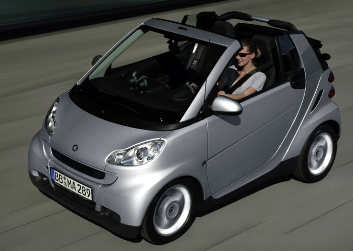 The smart fortwo CDI