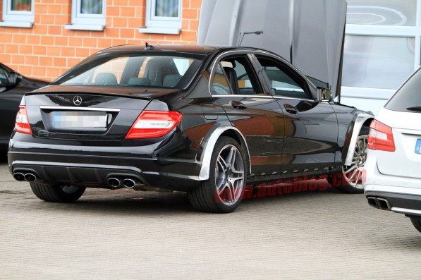 amg black 1 597x397 Black Series treatment for the C63 AMG?