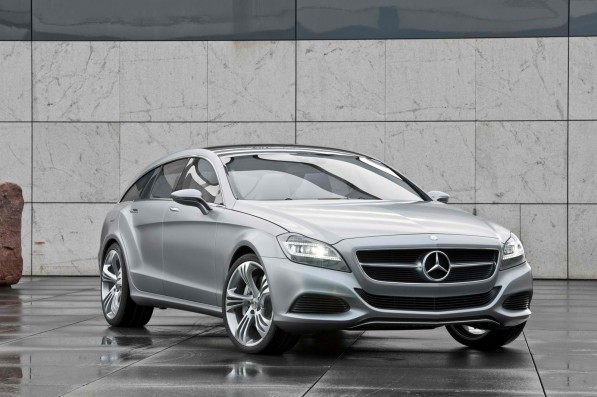 mb cls sblarge016 597x397 Next up, the CLS63 AMG Shooting Brake Concept