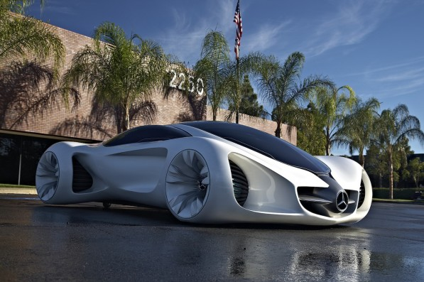 mercedes benz biome concept 597x397 Is Mercedes Benz Planning New Ecological Mid Engine Supercar?
