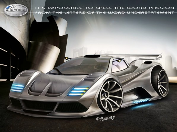 pagani zonda becomes virtual creation 26296 1 597x447 Virtual Zonda by Barney