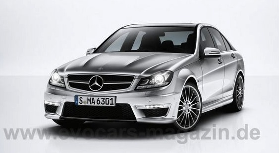 2012 C63AMG Leak Leak Happy: The 2012 C 63 AMG… Or is it?