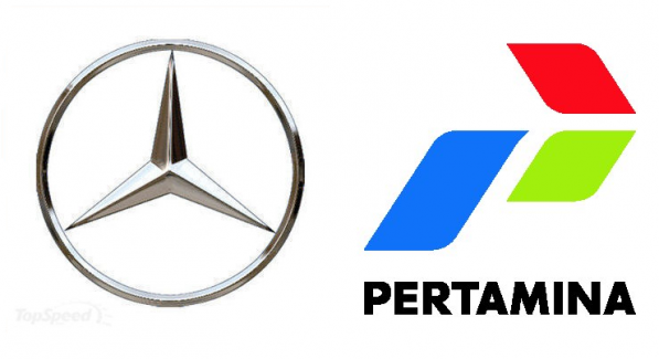 Benz Pertamina 597x325 Mercedes Benz Indonesia partners up with Pertamina