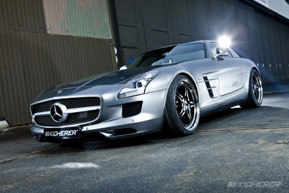 Kicherer Mercedes SLS AMG 2 597x398 A Touch of Kicherer on the Mercedes SLS AMG [Gallery]