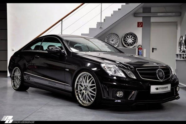 Prior BlackDesire 02 597x398 The E Class Coupe Black Desire by Prior Design