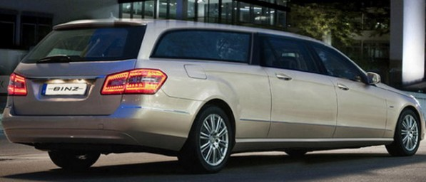 binz stretches the mercedes e klasse estate 27813 1 597x256 Binz Stretches the E Class Estate