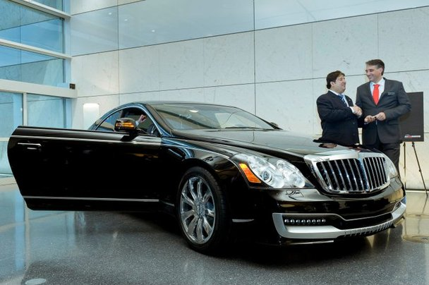 first xenatech maybach 57s coupe1 Xenatech Maybach 57S Coupe Makes Appearance