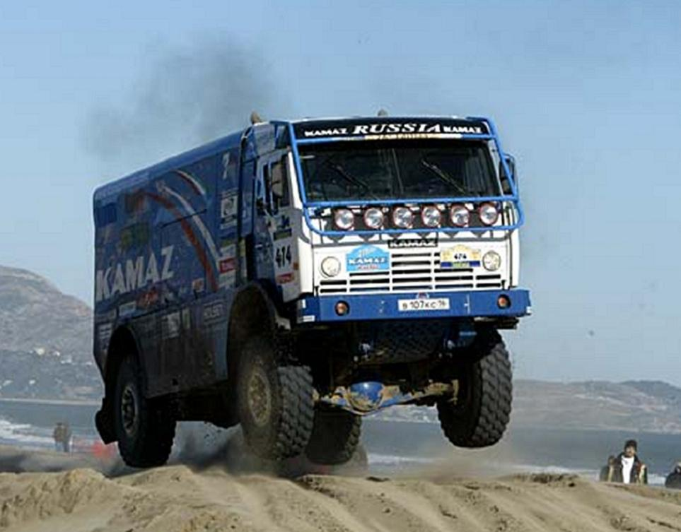 kamaz truck Daimler And Kamaz Sign Axle Deal