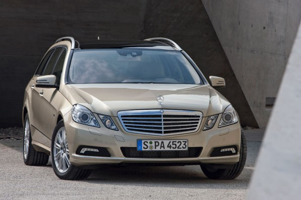 mercedes e300cdiBlue 597x397 Mercedes Benz E Class Lauded as Value Champion