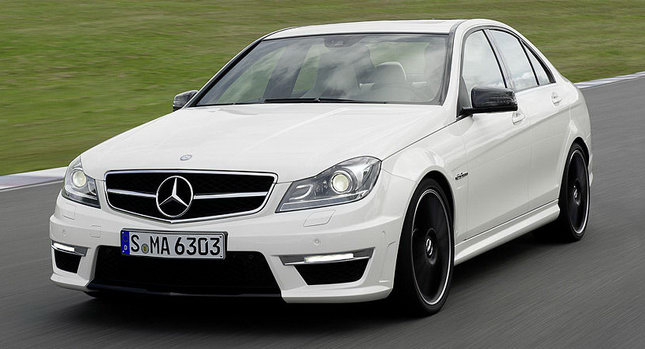 2012C63 New C63 AMG To Go On Sale This Summer
