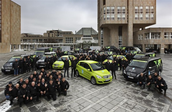 815990 1502545 4634 3029 11C100 0001 Custom 597x389 Zero emission B Class sets off on automotive marathon around the World