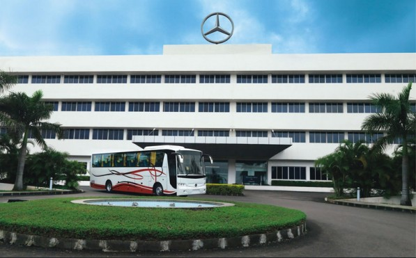 MBIndia 597x371 Mercedes Benz Targeting the Top of Indian Luxury Segment