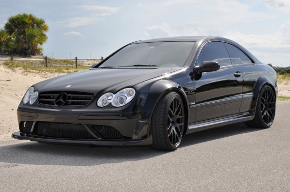 RENNTech CLKBlack Carbon01 597x396 RENNtech Brings CLK 63 Black Series Carbon Upgrades to Market