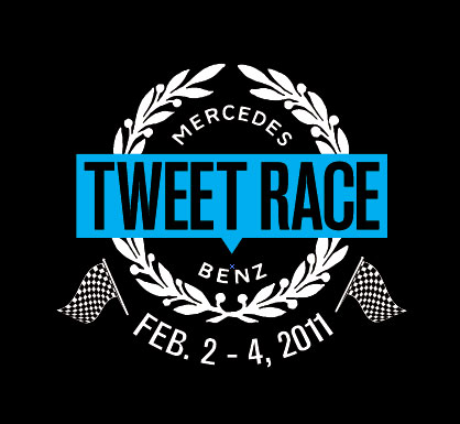 SBTweetRace logo MBUSA announces teams for Tweet Race to the Big Game