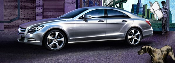 clsjan29 597x217 New Mercedes Benz CLS May Launch January 29