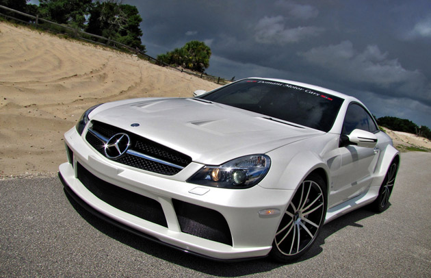 renntechSL65 Top 10 List Of Most Expensive Cars To Insure Has Five Mercedes