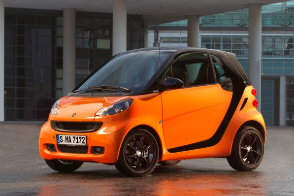 smartorange 597x398 smart Rolls Out fortwo nightorange Special Edition