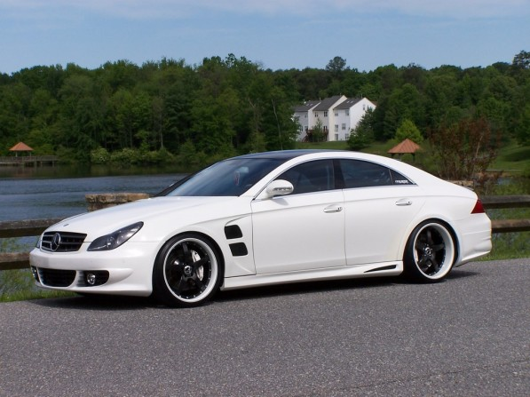 22161910214 large 597x447 DIY: Mercedes Benz CLS500 with an E55 AMG Engine Modifications