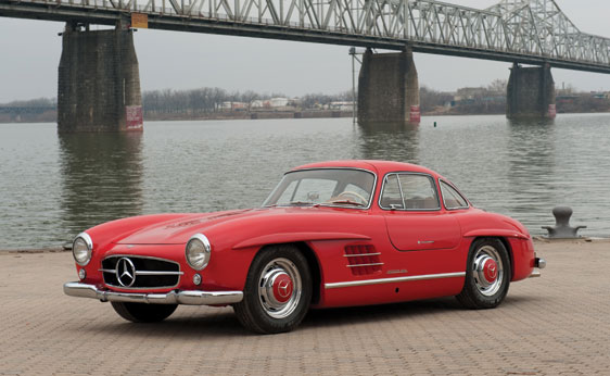 55sl Pristine 1955 Gullwing Mercedes Up For Auction Soon
