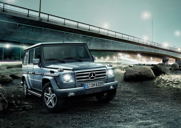 "G Class 597x422 Mercedes Benz G Class Takes Two Titles in ""Off Road"" Reader Survey"