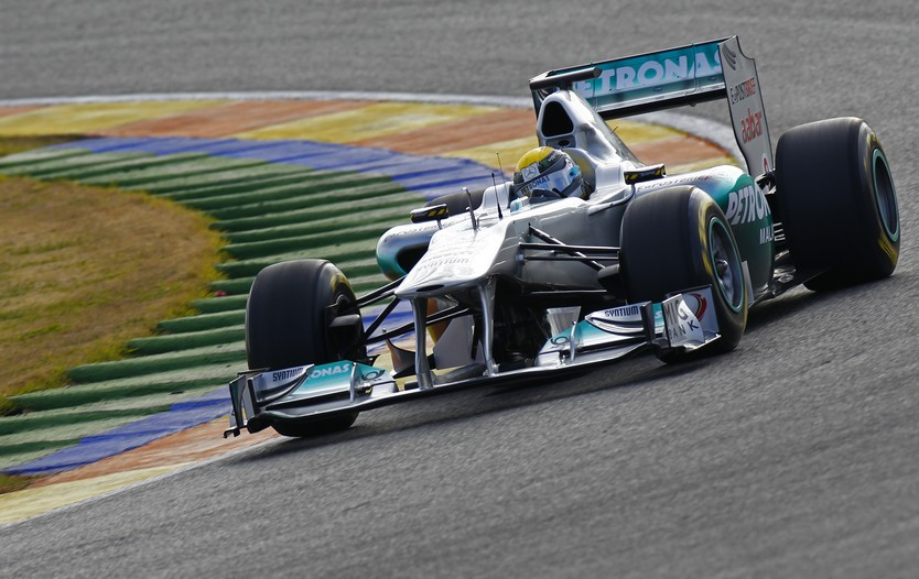 MGPW02 big Mercedes Unveils 2011 F1 Race Car