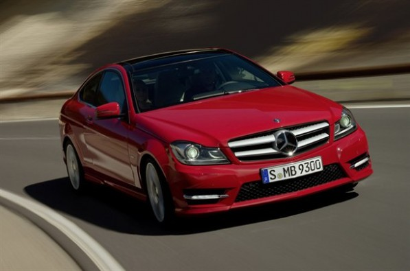 NewC ClassCoupeLeaks 03 597x395 New C Class Coupe Official Images Leaked