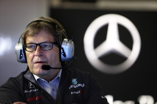 Norbert Haug 597x398 Norbert Haug: W02 wont Crack F1 Top 10 Just Yet