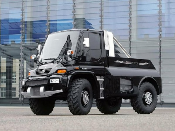 brabus unimog 597x447 Unimog Versatility Results In Fanatical Loyalty