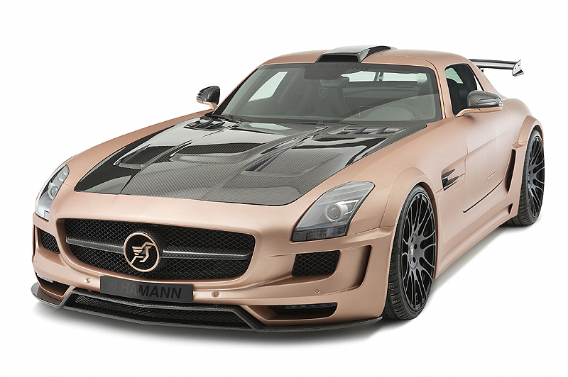 hamman hawk big Hamann SLS AMG Hawk to Debut at Geneva Show
