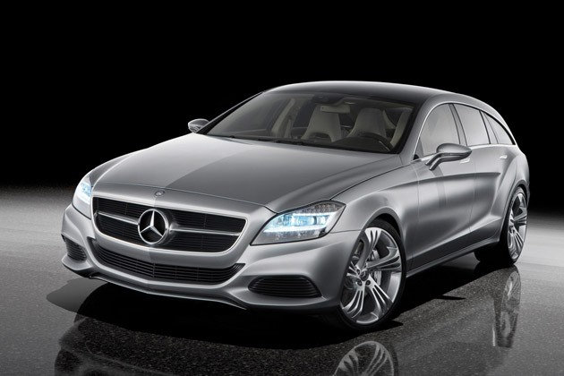 mb cls brake Mercedes Shooting Brake Concept Shows Retro Styling Direction