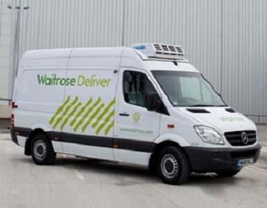 waitrose sprinterNGT Waitrose Taps Gas Powered Merc Sprinters to Slash Carbon Footprint