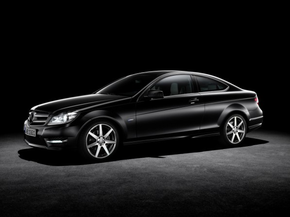 2012 C Class Coupe 05 medium 597x447 Geneva 2011: The perfect shape of the C Class Coupé