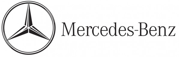mercedeslogo 597x190 Mercedes Benz with double digit growth in February   10.3%