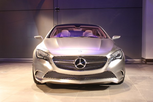 003 mercedes benz concept a new york 20111 597x397 Concept A Class in Mercedes Benz Manhattan