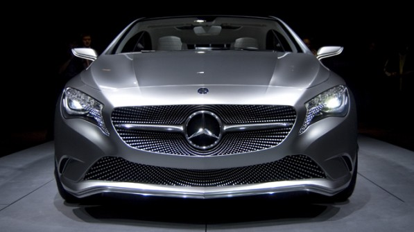350A1 597x335 Hot Hatch Mercedes Slated To Appear In 2013