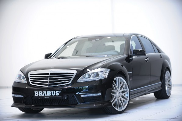 Brabus Mercedes Benz 232 597x397 Brabus creates kits for S Class variants