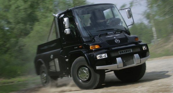 Mercedes Unimog 10 597x323 Unimog celebrates 60th anniversary with a bang