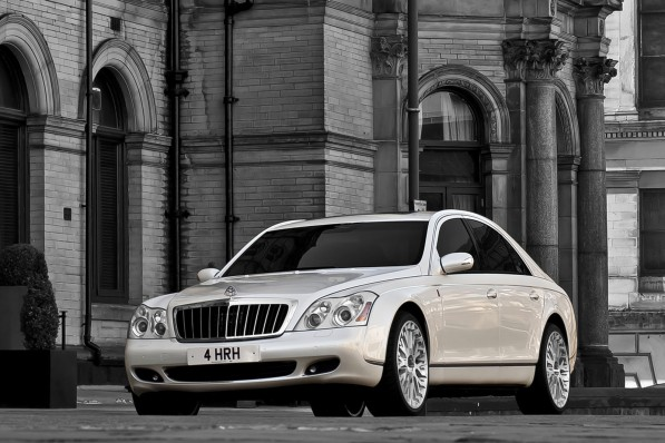 Project Kahn Maybach 57 Royal Wedding 11 597x398 Project Kahn creates Royal Wedding gift